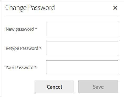 AEM Forms Administrator Passwords   Super Administrator Password