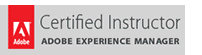 Adobe Experience Manager Certified Instructor.