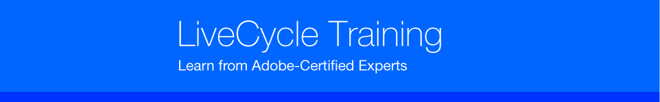 Adobe LiveCycle Training - Learn from Certified Experts.